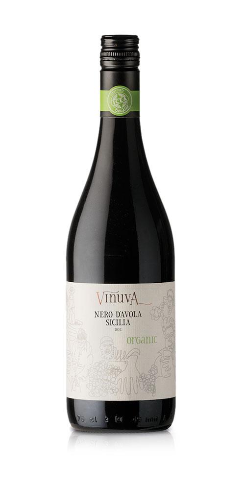 Vinuva Nero D'Avola - Organic wine