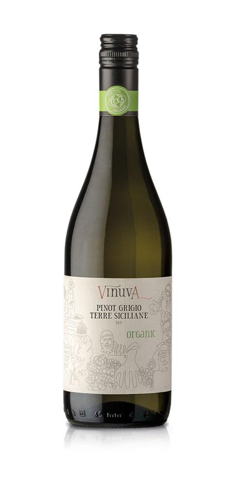 Vinuva Pinot Grigio - Organic wine