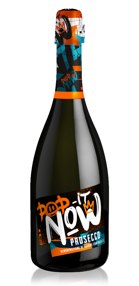 Prosecco Pop it Now bottle